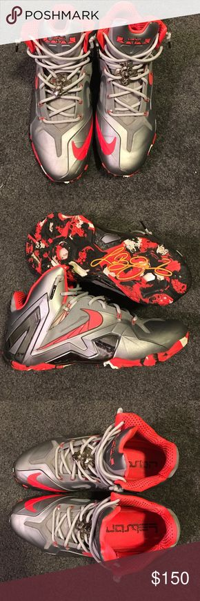 """Nike LeBron 11 Elite """"Team"""" Great Shape. Slightly worn. Not for trade sell only. 100% authentic. Message for details! Nike Shoes Sneakers"""