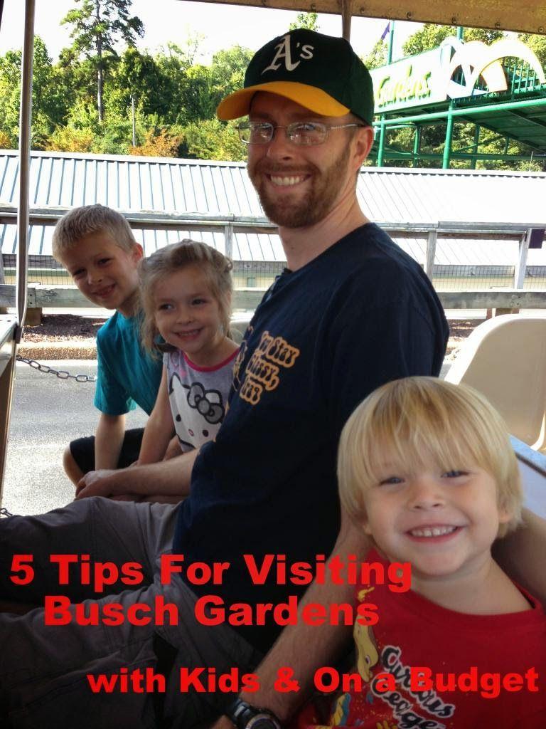 Visiting Busch Gardens with Kids *Williamsburg*