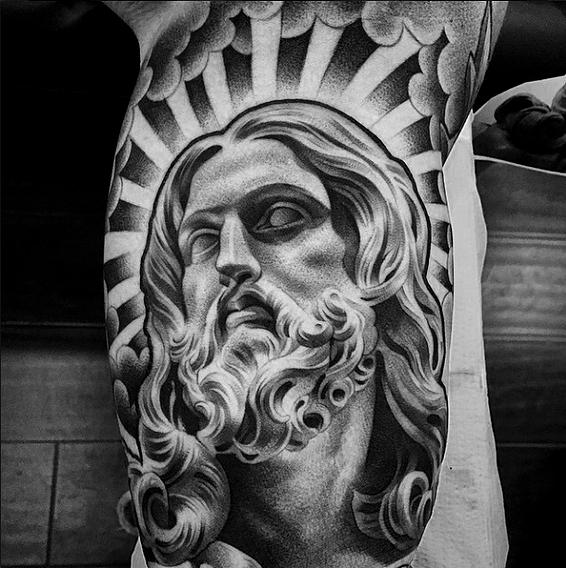Lilbtattoo Black And Grey Tattoo Artist Armtatueringar Haftiga Tatueringar Tatuering