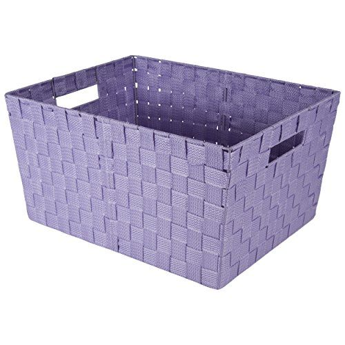 Tremendous Open Top Storage Bin With Handles Purple Raymond Waites Caraccident5 Cool Chair Designs And Ideas Caraccident5Info