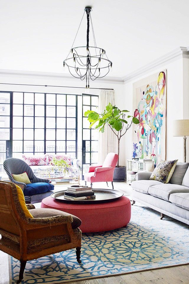 Inside a Beautifully Colorful West Village Townhouse