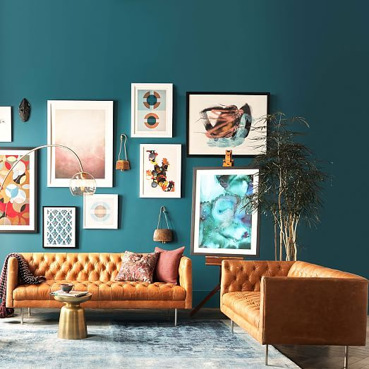 Incredible Modern Chesterfield Leather Sofa 79 Interiors In 2019 Uwap Interior Chair Design Uwaporg