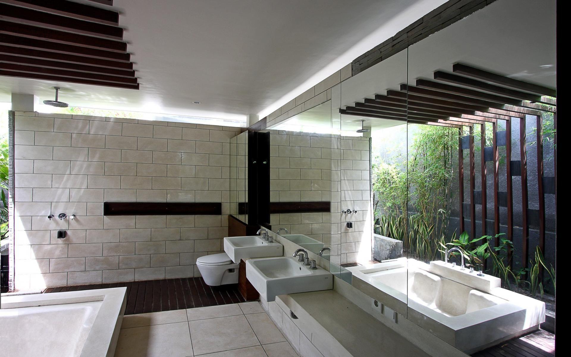 Villa paya paya by aboday architect modern resort for Balinese bathroom design