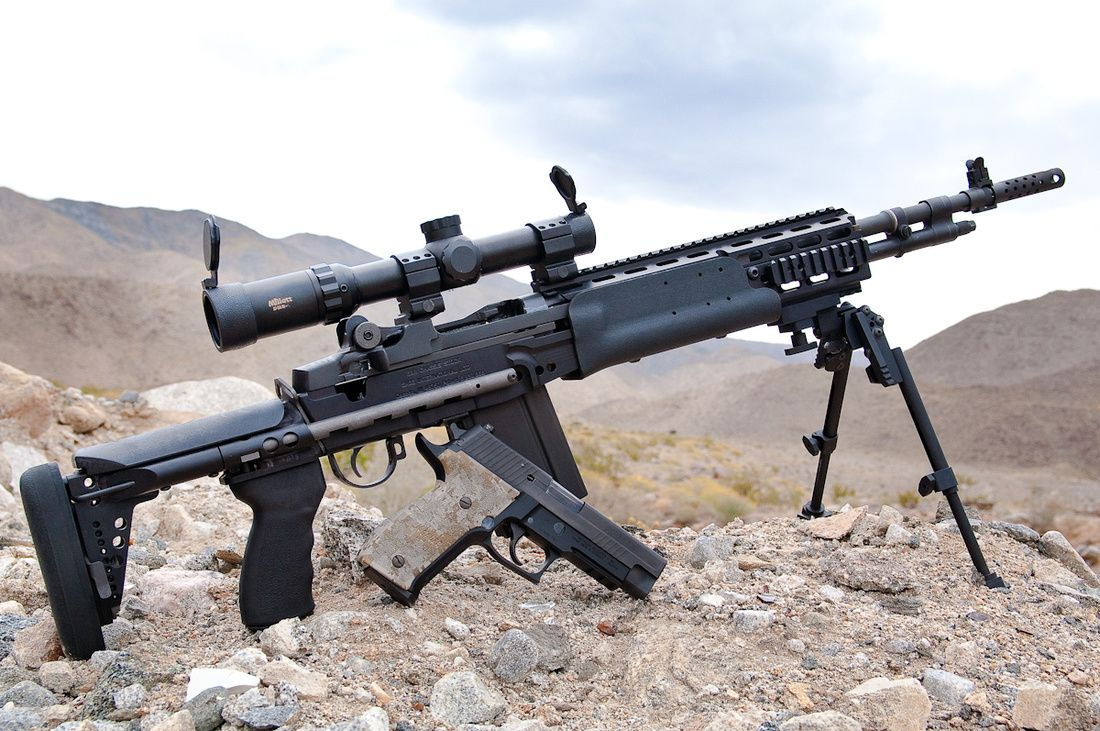Image Gallery M14 Tactical M14 Tactical Sniper Rifle