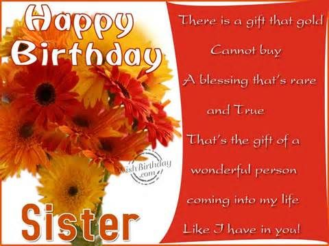 Happy Birthday Cards For Little Sisters And Sister Quotes