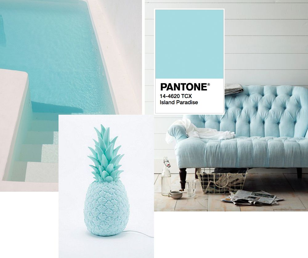 island paradise pantone colour for spring 2017 spateresting rh pinterest com