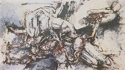 Ser 1962   Flavio-Shiró óleo sobre tela, c.i.d. 110.00 x 200.00 cm