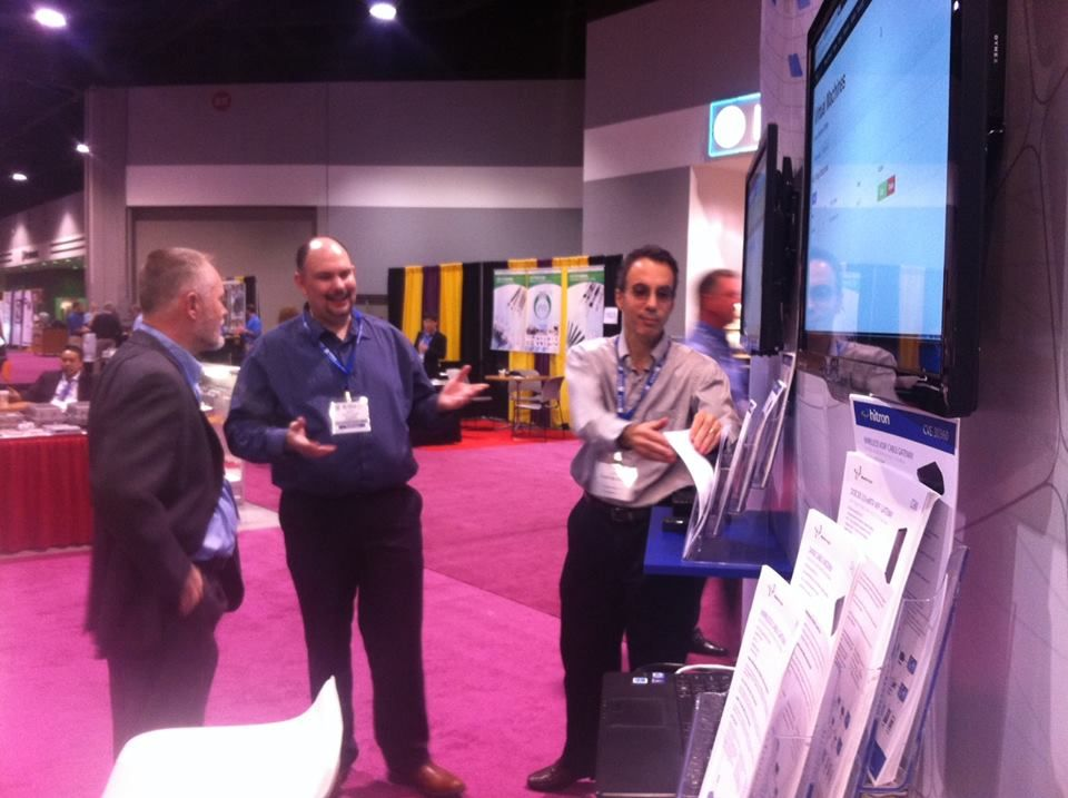 Scott and Rick being interviewed by Broadband Technology Report.