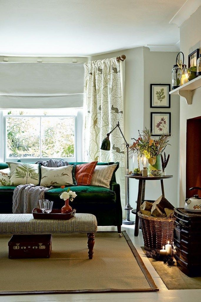 40+ Cozy Small Living Room Ideas for English Cottage ...