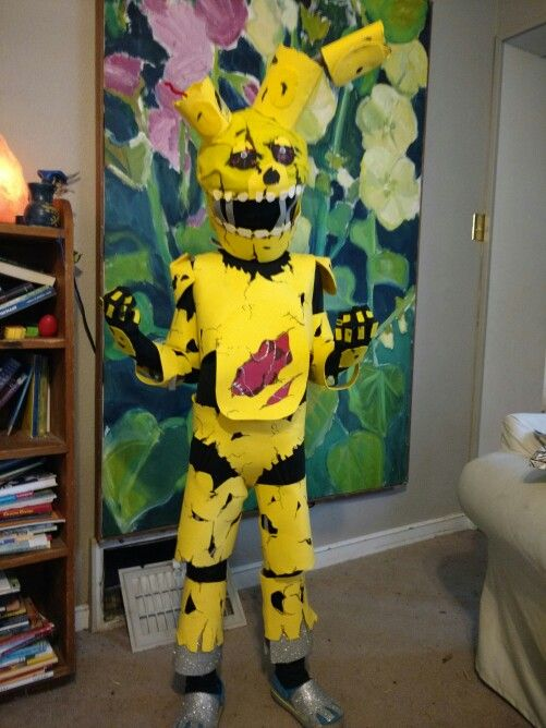 springtrap costume costumes halloween