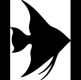 Free Silhouette Clip Art Fish Silhouette Silhouette Clip Art Animal Stencil