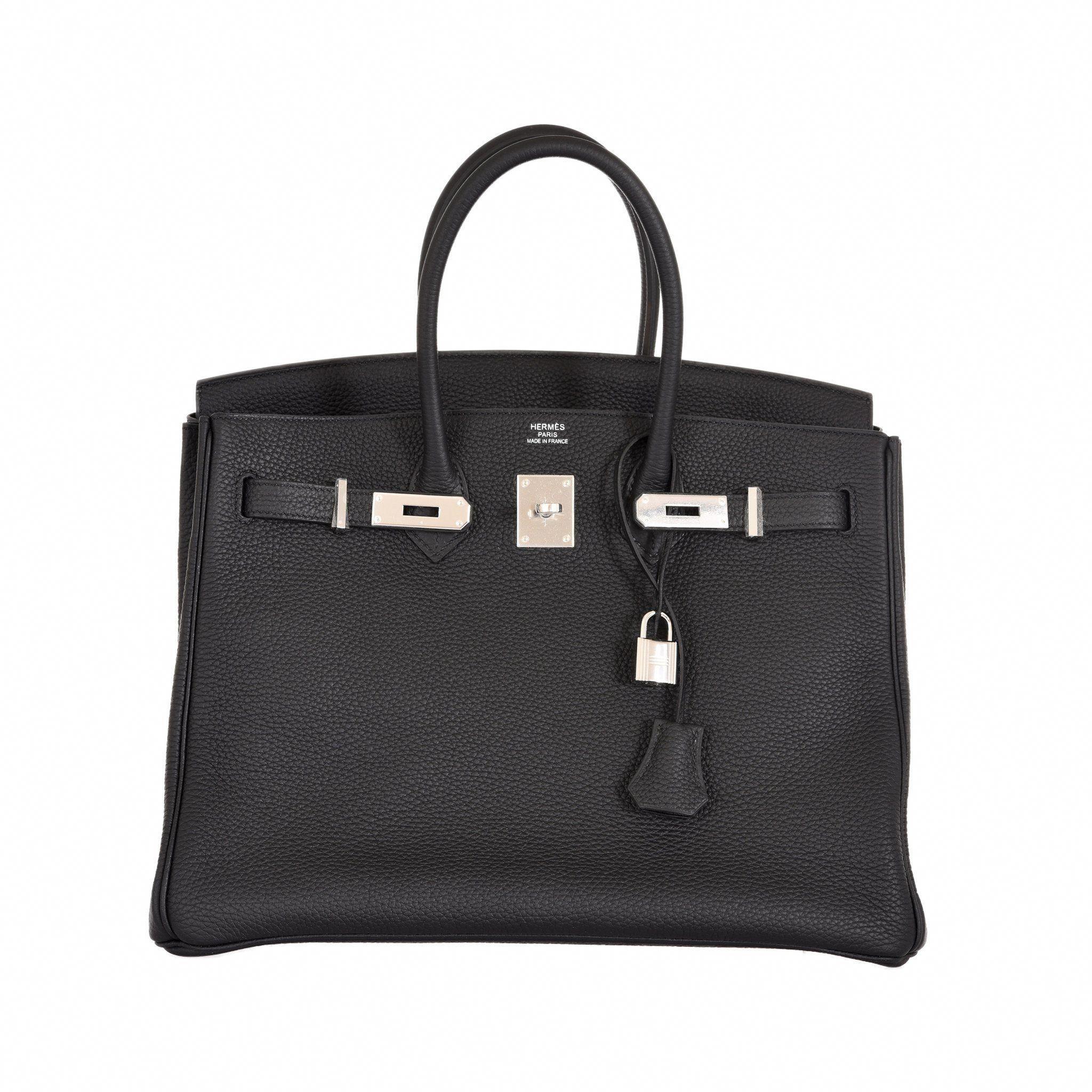 71a6ee80f820 Hermes Birkin 35 Black Togo Palladium Hardware-Birkin-JaneFinds   Hermeshandbags