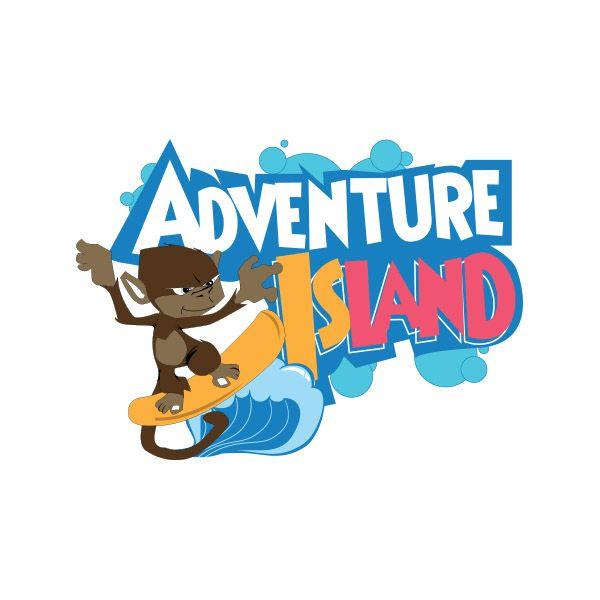 logo design for florida adventure themed water park logo rh pinterest com water park logo maker water park logo creator