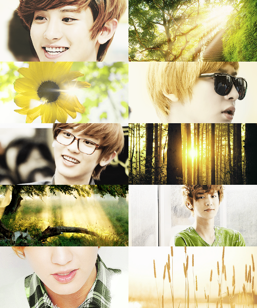 If EXO own the weather → Chanyeol would be the reason behind the sunshine by viitakissme