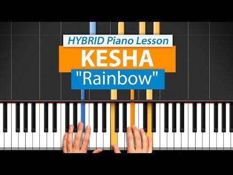 38 How To Play Rainbow By Kesha Hdpiano Part 1 Piano