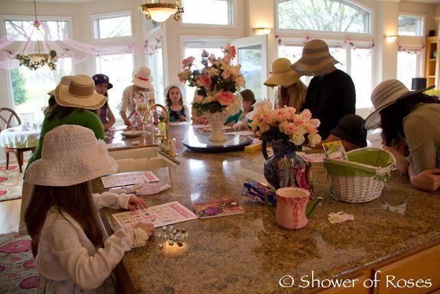 Shower of Roses: Indoor Tea Party Games