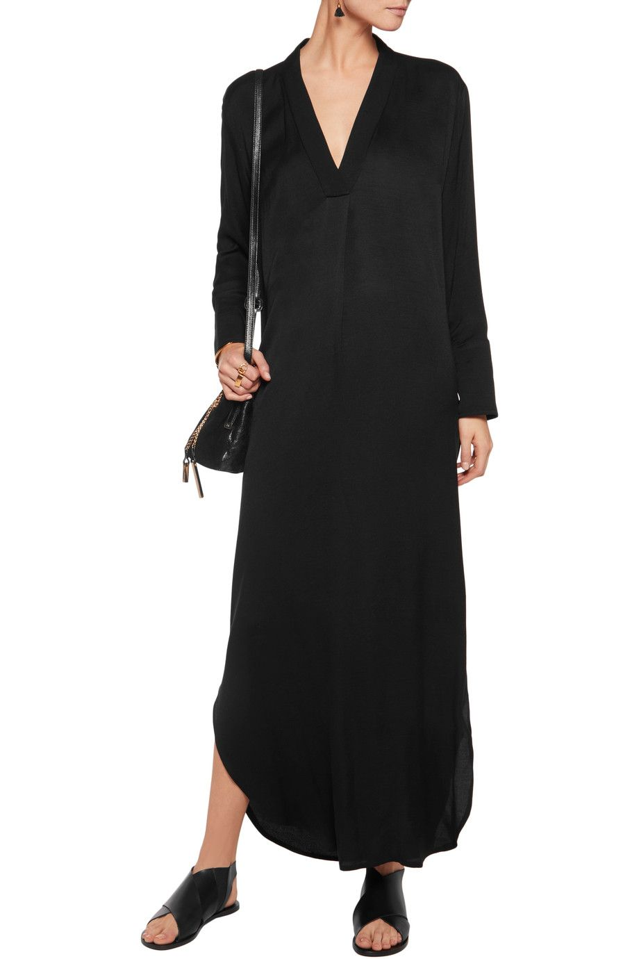 10749659abe Shop on-sale By Malene Birger Wikkias twill maxi dress. Browse other ...