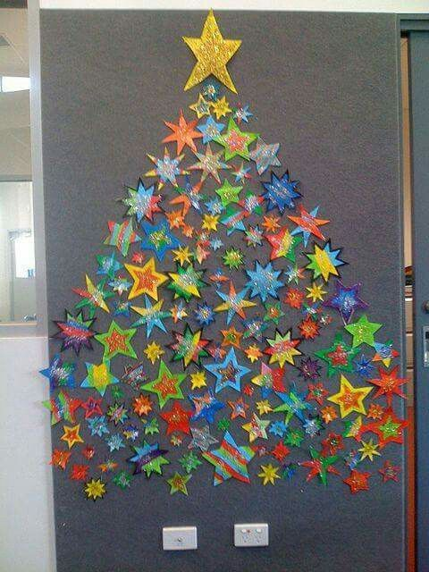 Very effective - every child makes a star and it's put onto a display to create a tree