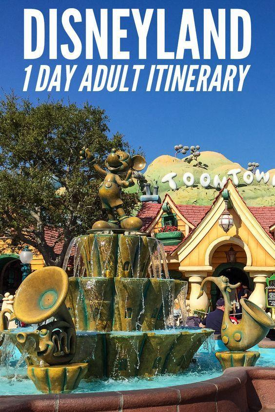 Photo of Eine eintägige Reiseroute für Disneyland und California Adventure für Erwachsene …