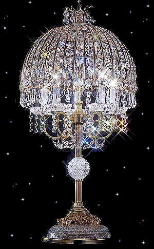 Strass Crystal Table Lamps Squittis Beautiful Things - Strass chandelier crystals