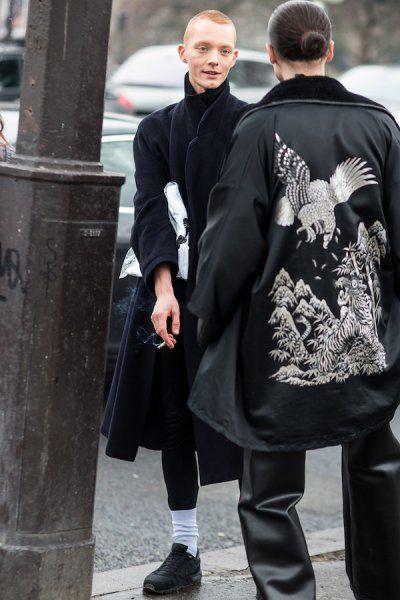 Tydzien Mody Meskiej W Paryzu Jesien Zima 2016 2017 Fot Monika Motor Fashion Mens Fashion Bomber Jacket