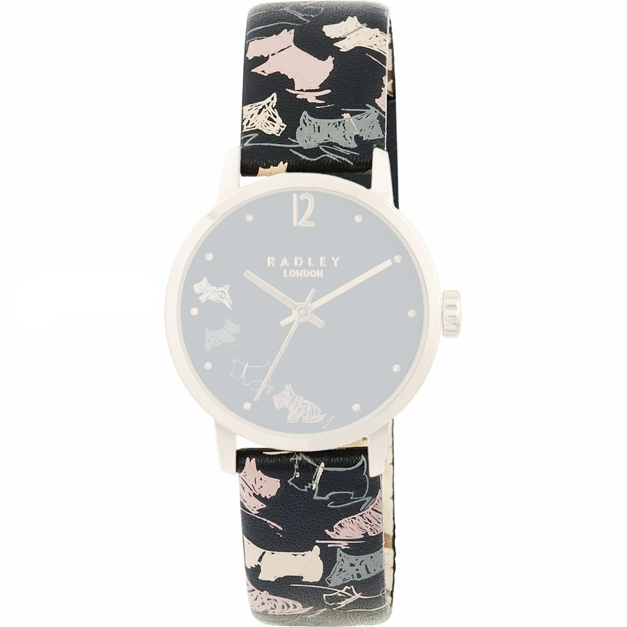 Radley ladies leather gloves - Radley Replacement Watch Strap Navy Blue Leather 15mm For Ry2272 With Free Pins