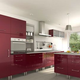 Cuisine Cooke Lewis Gossip Aubergine Kitchens Kitchen Interior Kitchen Colors Kitchen Cabinets