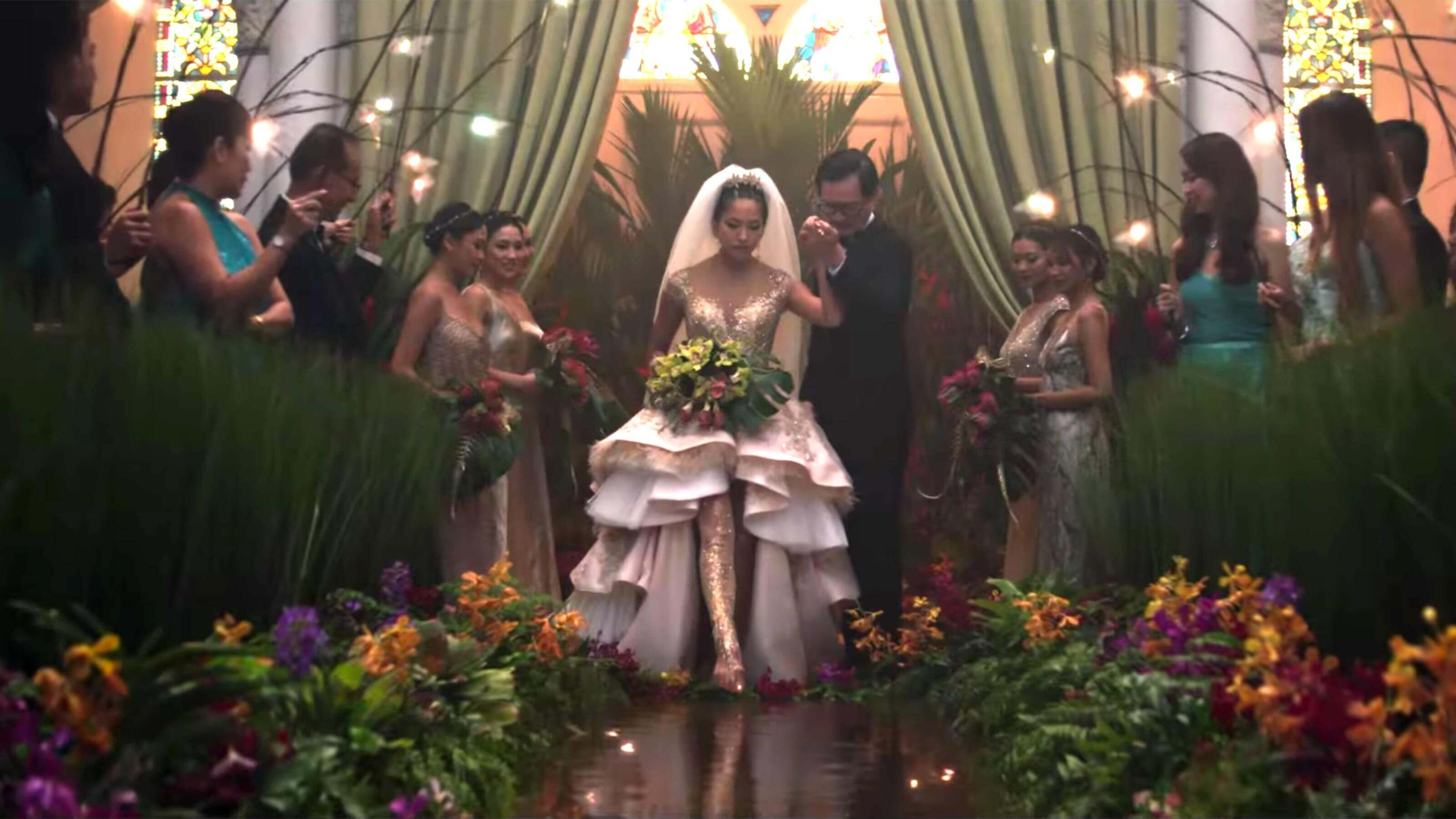 Image result for crazy rich asians wedding