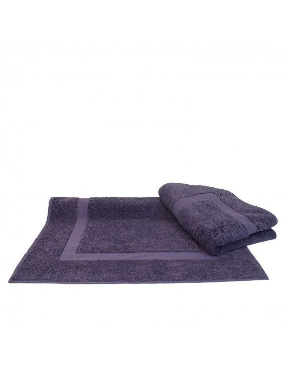 plum purple spa bath mat with dobby border set of 2 products rh pinterest co uk