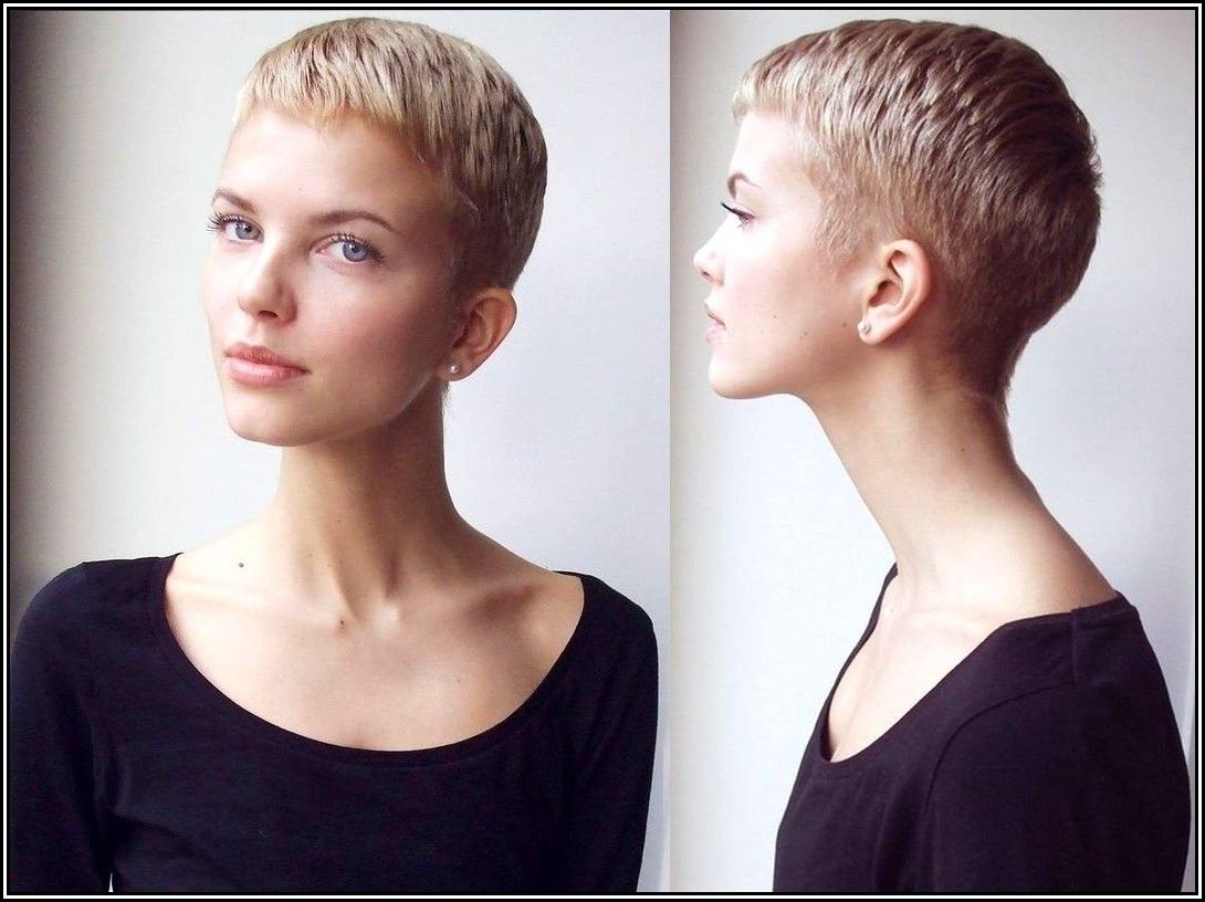 short-hairstyle-with-side-shaved-short-pixie-haircuts-with-shaved