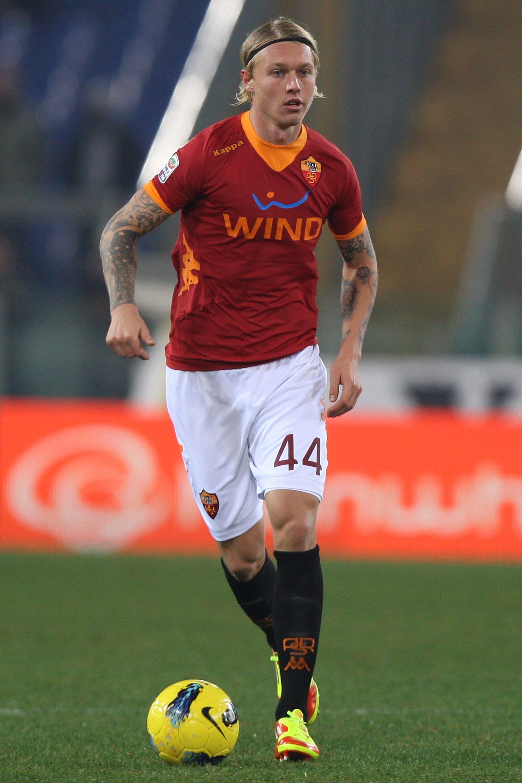 Denmark International Simon Kjaer on AS Roma As roma