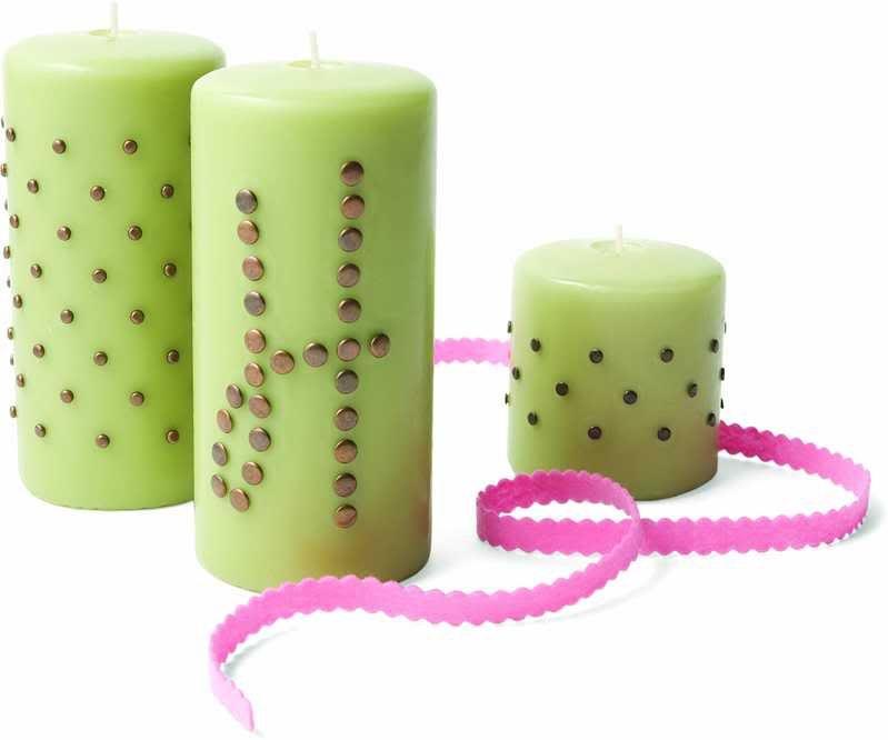 25 ways to update decorate repurpose plain pillar candles rh in pinterest com