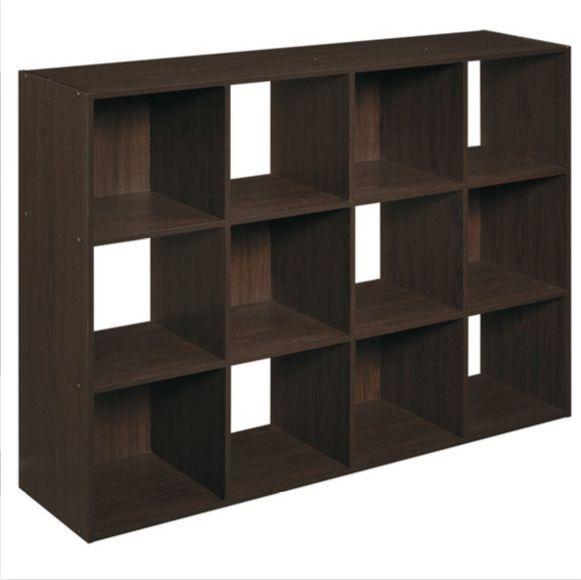 cube storage organizer wood bookcase shelf bookshelf furniture rh pinterest nz