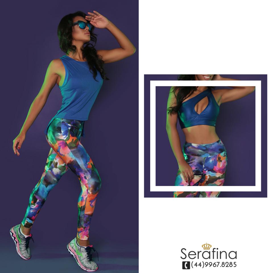 Aquele look que é perfeito porque você pode abusar de ambos estilos: casual ou esporte!     Compre aqui o seu  www.serafinastore.com.br e arrase!
