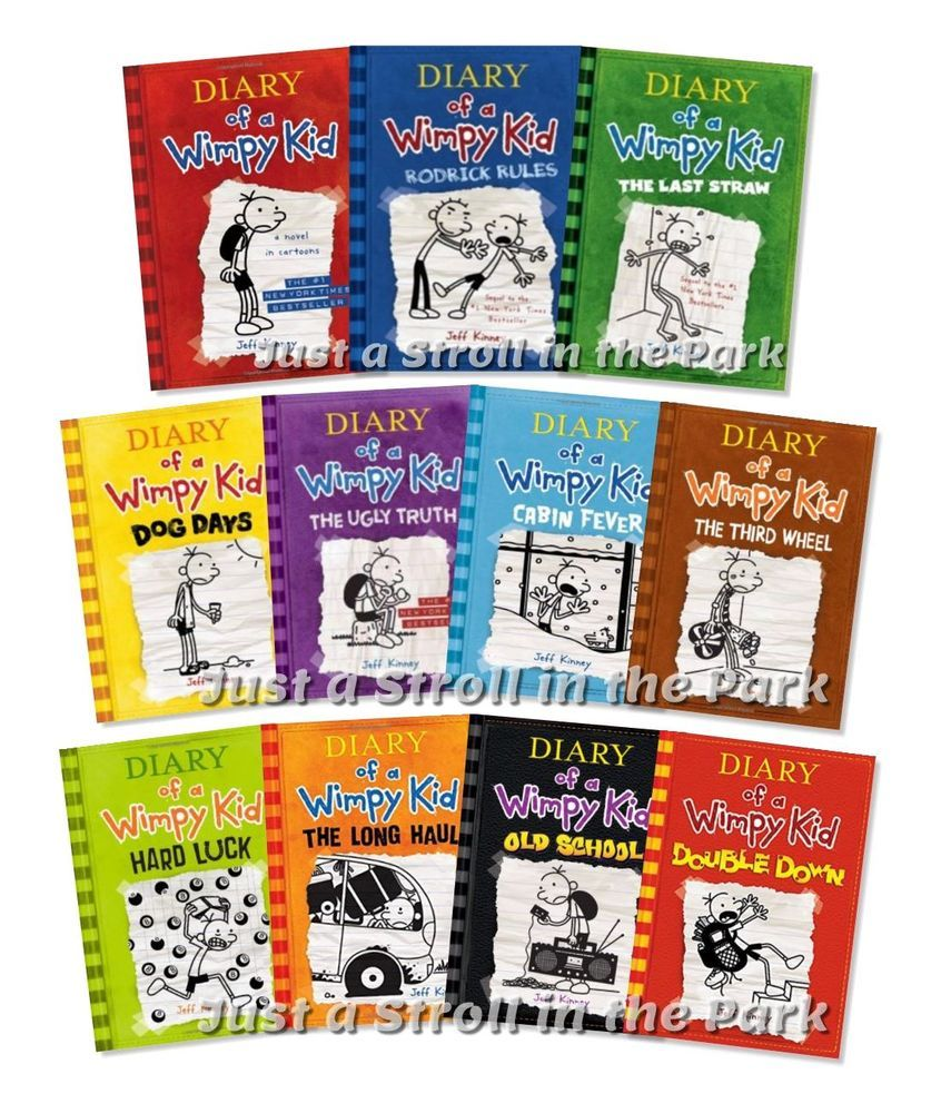 Diary of a wimpy kid complete series hardcover books 1 11 diary of a wimpy kid complete series hardcover books 1 11 collection set new solutioingenieria Images