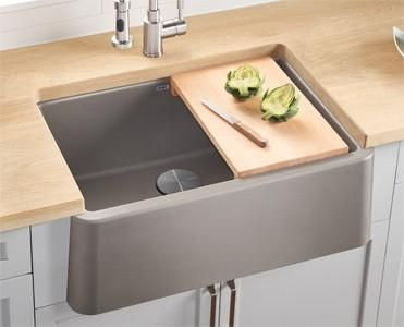 blanco cutting board in beechwood for ikon apron front series 235010 rh pinterest com