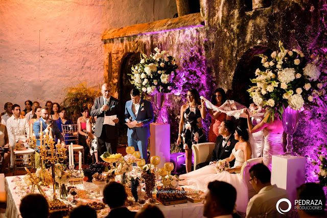 Mr And Mrs Arefi Persian Wedding In Cartagena Colombia