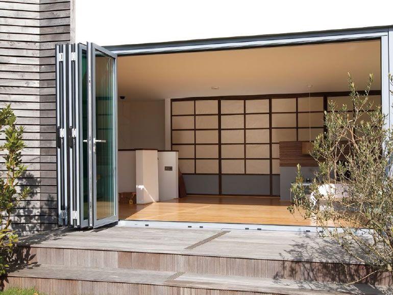 Bifold Doors Slimline Glazing Aluminium Systems Building Works