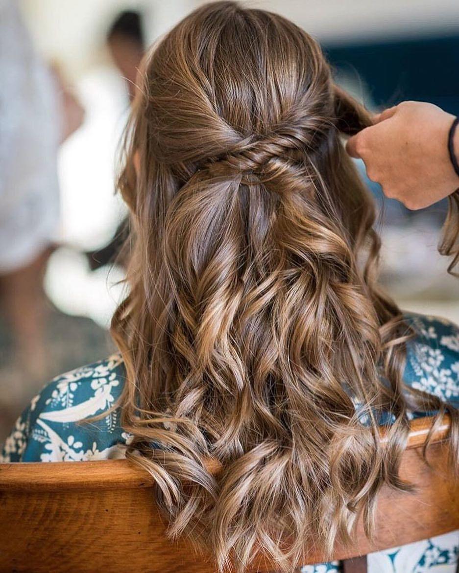 Atención Novias E Invitada Peinados Pelo Suelto Boda Peinado Boda De Dia Peinados