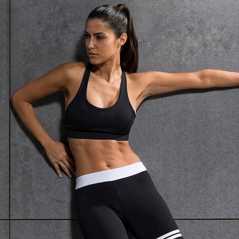 bf1e456a47ac With this waterfall back, our sports bra is the perfect piece for your gym  outfit