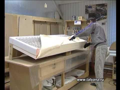 как сделать диван еврокнижка своими руками 9 обивка сидения