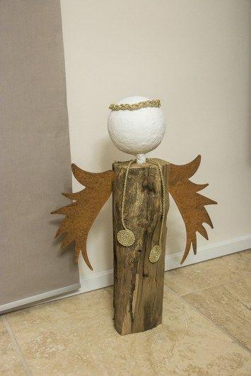 Holzscheit Engel Selber Bauen Anleitung 8 Gefällt Uns Im Haus