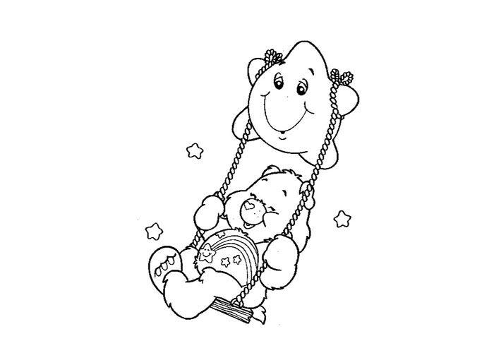 Care Bear Stencil