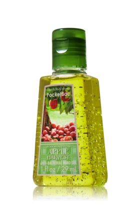 Washington Apple Harvest Pocketbac Sanitizing Hand Gel Anti