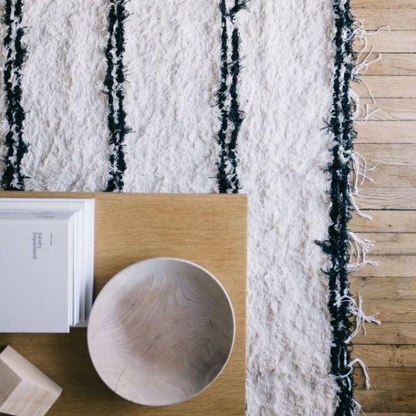 tapis type berbere jarapa le rep re des belettes deco. Black Bedroom Furniture Sets. Home Design Ideas