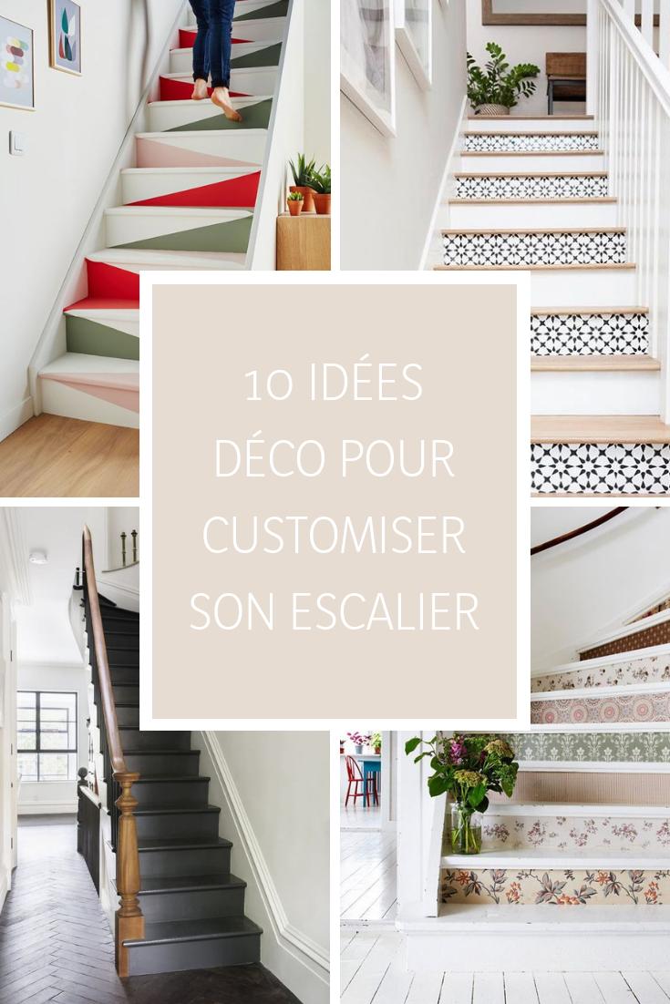 Décoration Marche Escalier Intérieur 10 idées déco pour customiser son escalier | idée déco