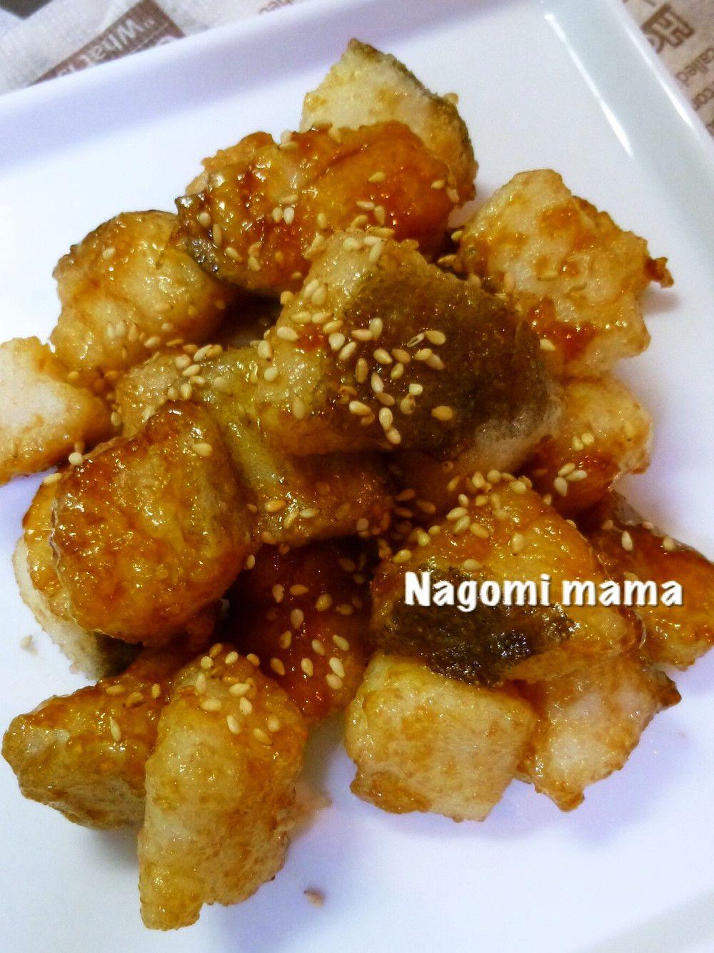 タラのコロコロ甘辛揚げ by 和みmama レシピ レシピ 魚 レシピ たら レシピ