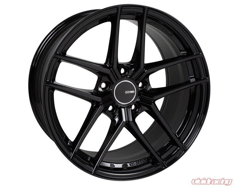 Enkei Tuning Wheels Enkei Ty 5 Pearl Black Hyper Silver Gloss Black Wheel Get Special Deals Here Black Wheels Wheel Rims Gloss Black