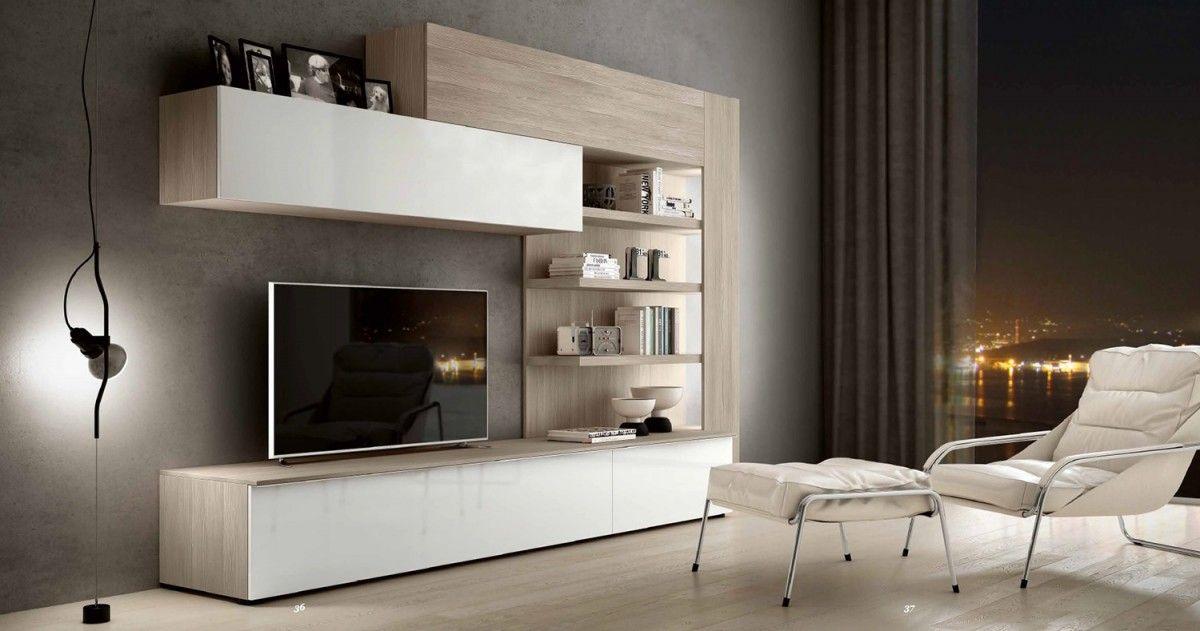 Parete attrezzata porta tv soggiorno Athos 24 | wall units ...