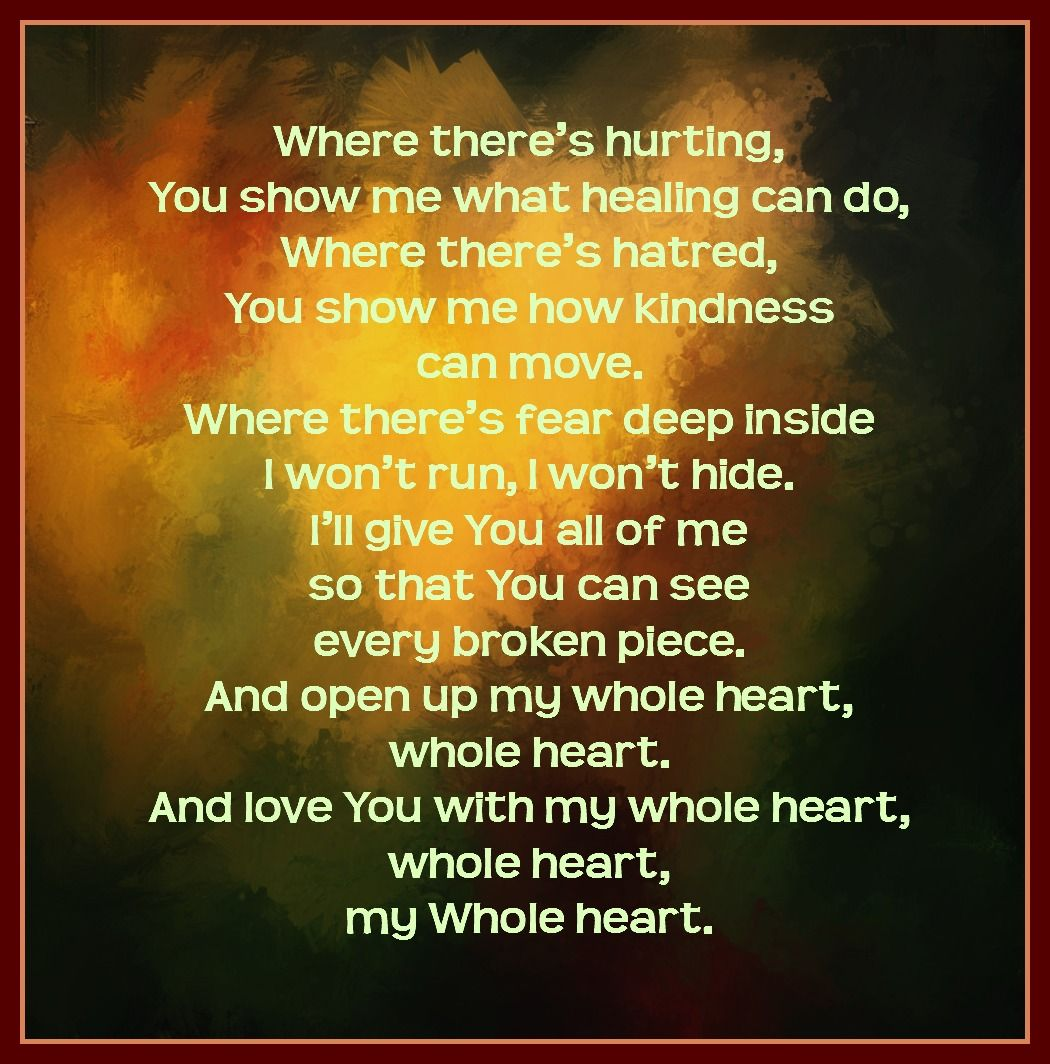 Whole Heart Lyrics